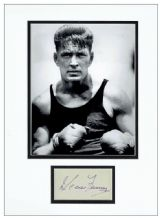 Gene Tunney Autograph Signed Display
